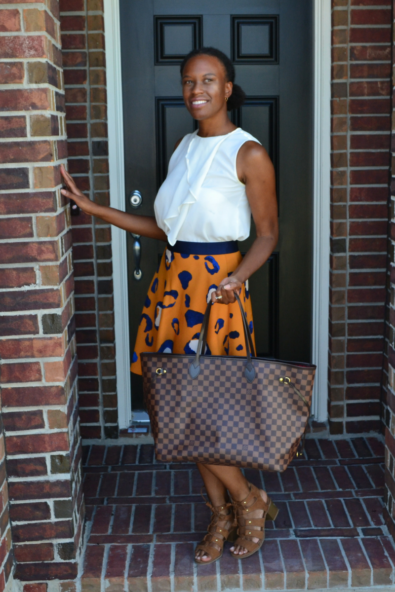 target blouse and target skirt